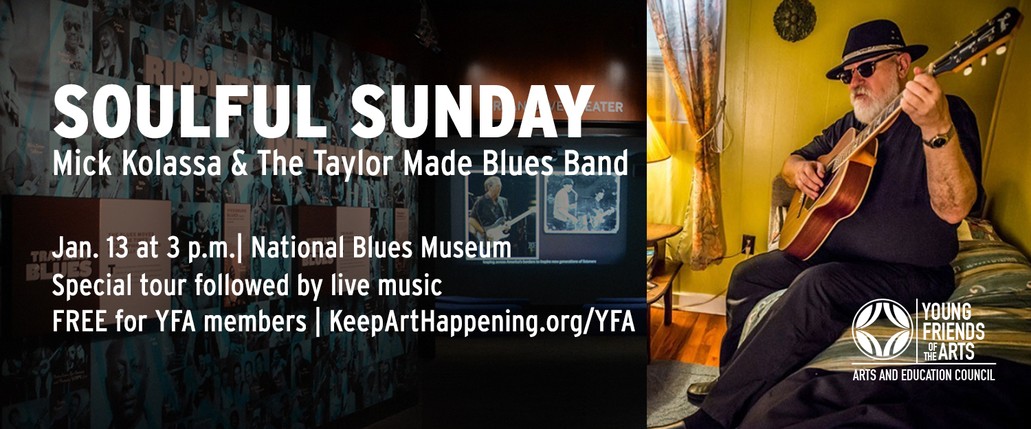Young Friends of the Arts at National Blues Museum