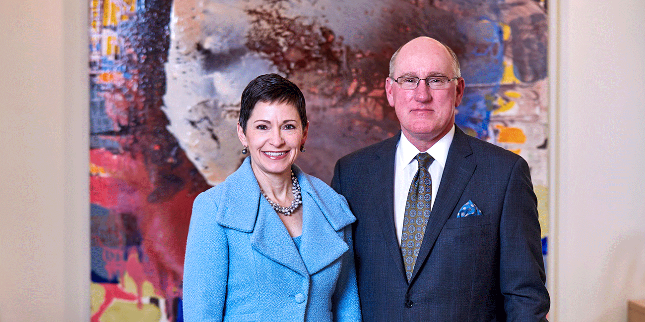 Penny Pennington Mike Fidler 2020 St. Louis Arts Awards co-chairs