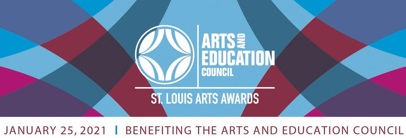 2021 St. Louis Arts Awards header