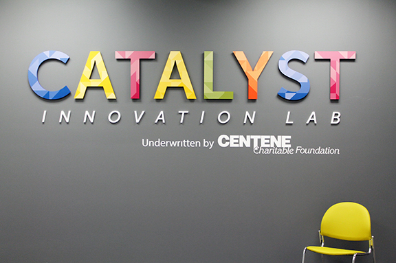 Catalyst Innovation Lab with lead support from Centene and design support from HOK