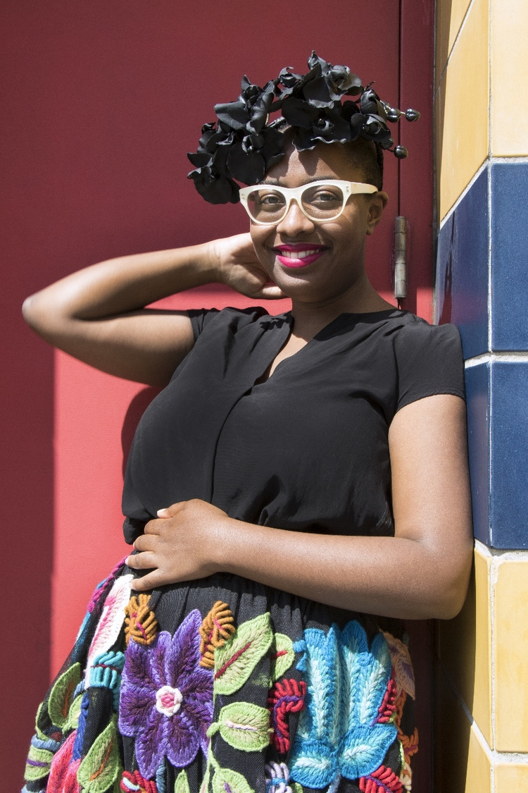 Photo of Cécile McLorin Salvant