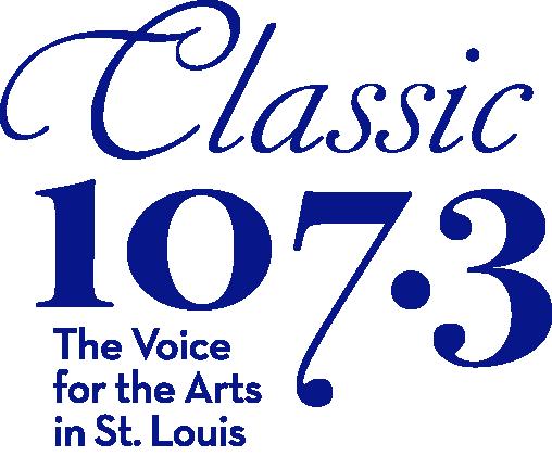 Classic 107.3 logo, Arts Collaborator