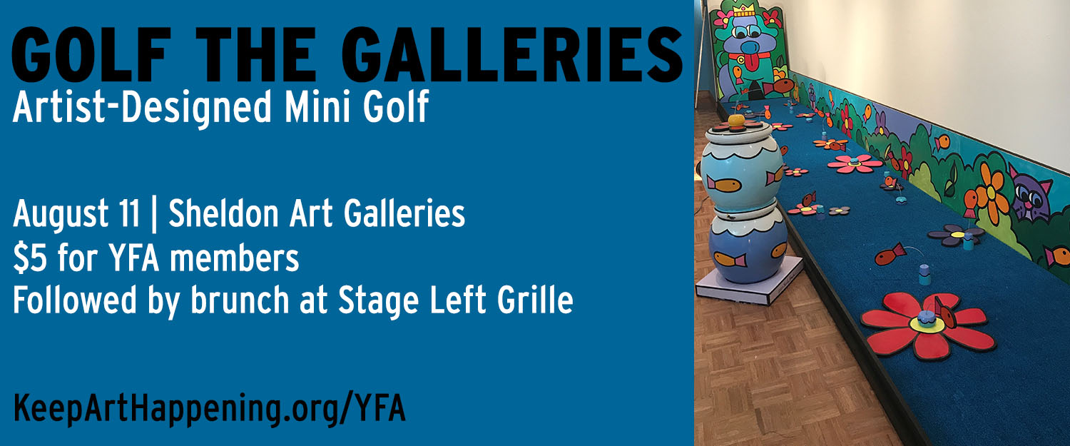 Young Friends of the Arts Golf the Galleries