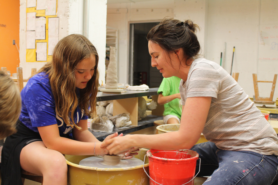 Craft Alliance Clay Summer Camp