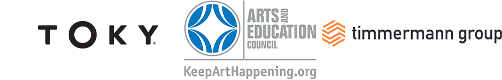 TOKY Arts and Education Council Timmermann Group logos