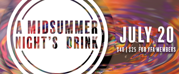 Young Friends of the Arts A Midsummer Night's Drink 2018