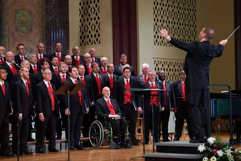 Gateway Men's Chorus, a 2017 PNC Project Grant recipient of the Arts and Education Council