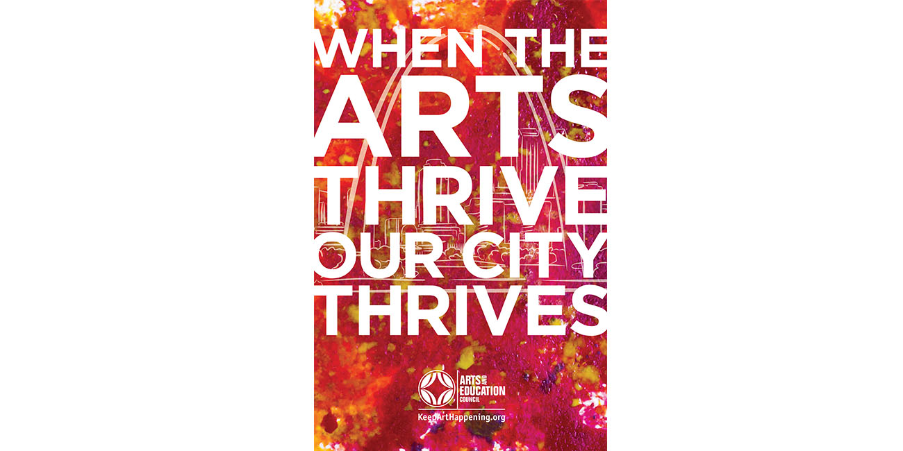 When the Arts Thrive, Our City Thrives