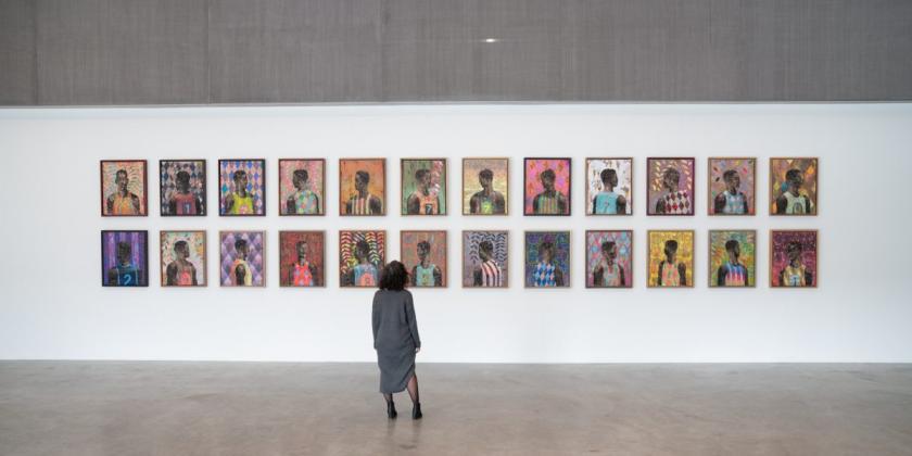 Derek Fordjour_ SHELTER - Contemporary Art Museum St. Louis