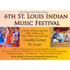 6th St. Louis Indian Music Festival