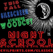 Evil Prints - Night School at Evil Prints