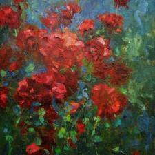 """""""Morning Roses,"""" Michael Kornblum"""