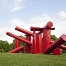 image of sculpture at Laumeier Sculpture Park