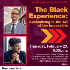 Photo of The Black Experience Flyer