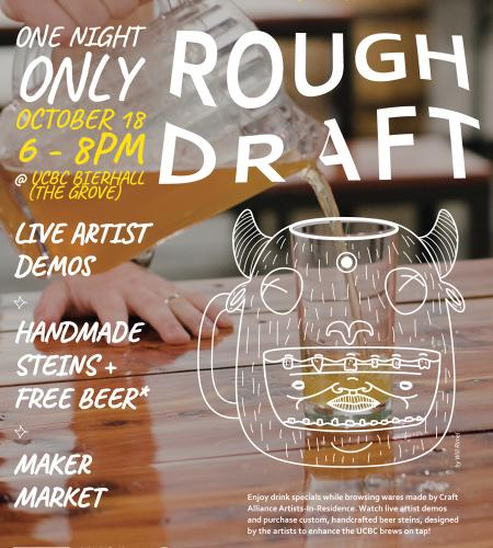rough draft presented by craft alliance urban chestnut