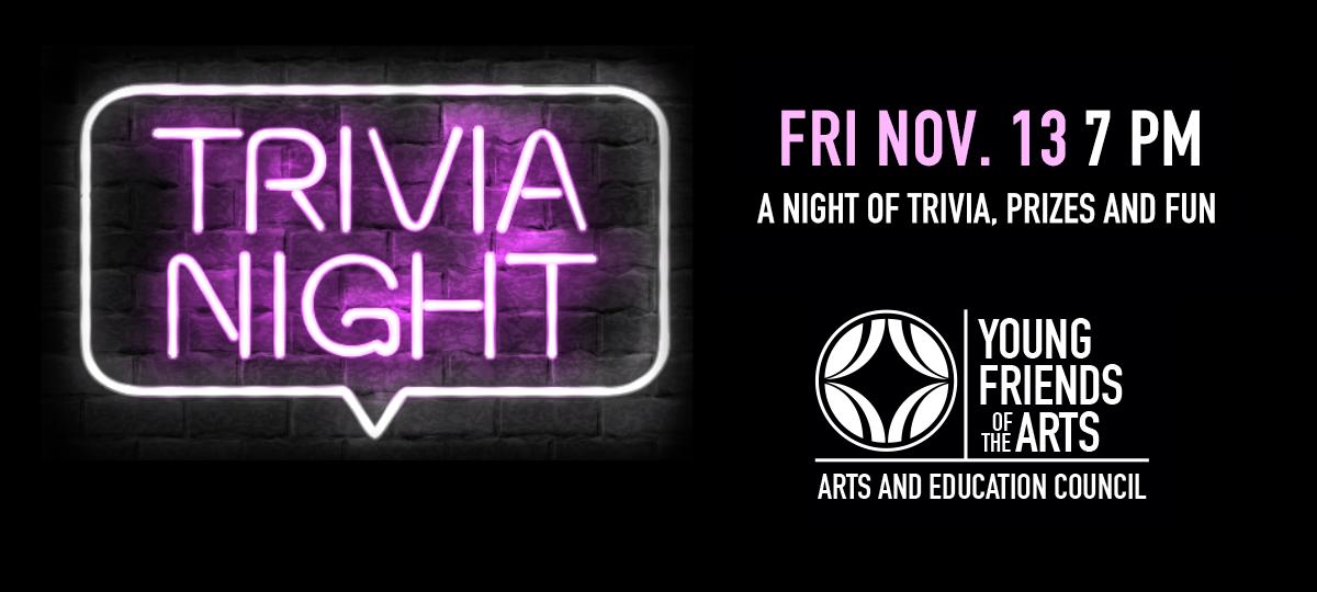 Fri Nov 13 Trivia Night